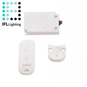 Controlador LED ON/OFF por Control Remoto RF
