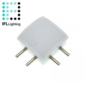 Conector Right Corner Perfil con Tira LED Aretha
