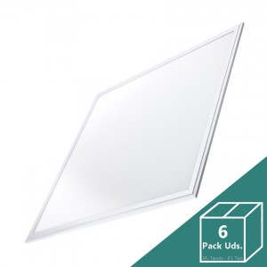 Panel LED Slim 60x60cm 40W 3200lm (Pack 6 Uds.)