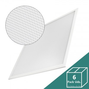 Panel LED Slim 60x60cm 40W 4000lm (UGR17) (Pack 6 Uds.)