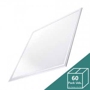 Panel LED Slim 60x60cm 40W 3200lm (Pack 60 Uds.)