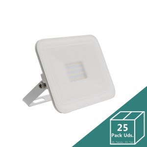 Foco LED Slim Cristal 20W Blanco (Pack 25 Uds.)