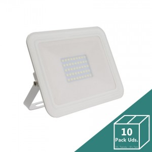 Foco LED Slim Cristal 30W Blanco (Pack 10 Uds.)