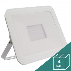 Foco LED Slim Cristal 100W Blanco (Pack 4 Uds.)