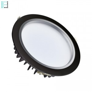 Downlight LED Samsung 40W 120º Negro