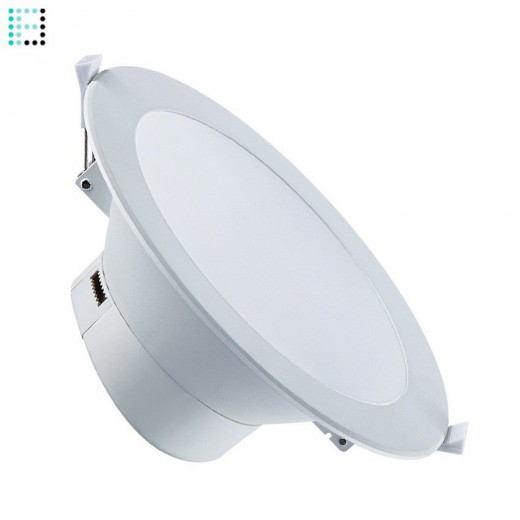 Downlight LED Especial Banos 25W IP44