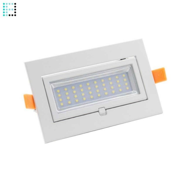 Foco LED Basculante Rectangular 15W