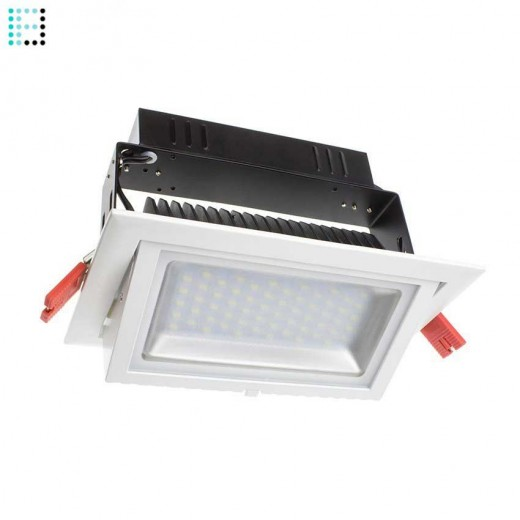 Foco Proyector LED Samsung 120lm/W Direccionable Rectangular 28W Regulable 1-10v