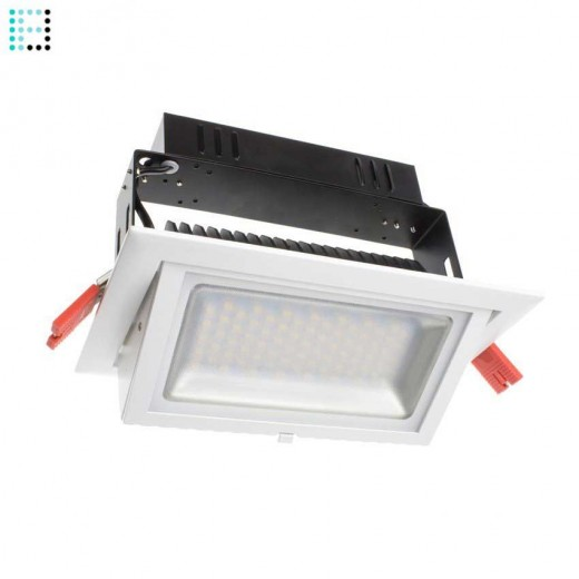 Foco Proyector LED Samsung 120lm/W Direccionable Rectangular 38W