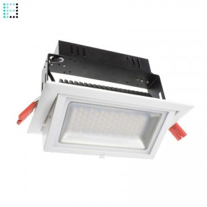 Foco Proyector LED Samsung 120lm/W Direccionable Rectangular 38W Regulable 1-10v