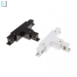 Conector Tipo T para Carril Trifasico