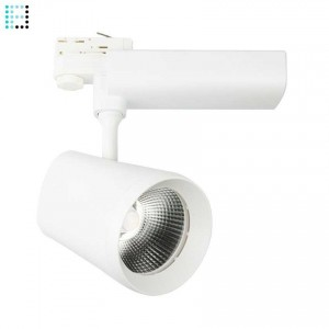 Foco LED Citizen DAngelo 40W Blanco para Carril Trifasico