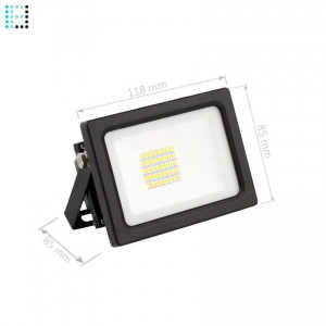 Proyector LED SMD 20W 135lm/W Eficiente