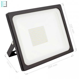 Proyector LED SMD 100W 135lm/W Eficiente