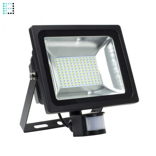 Foco Proyector LED SMD con Detector 50W 120lm/W