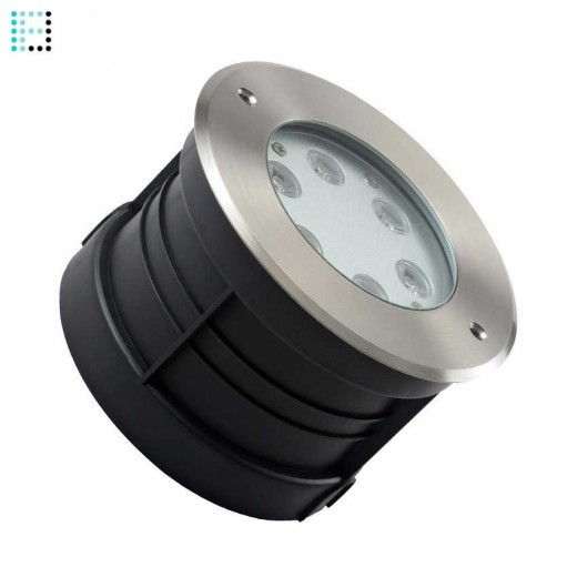 Foco LED Empotrable en Suelo 6W