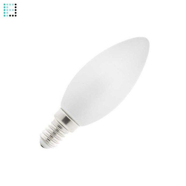 Bombilla LED E14 Vela Glass 4W