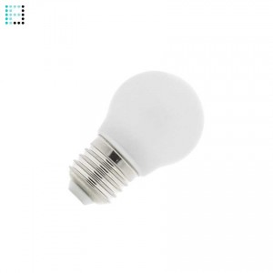 Bombilla LED E27 Glass 4W