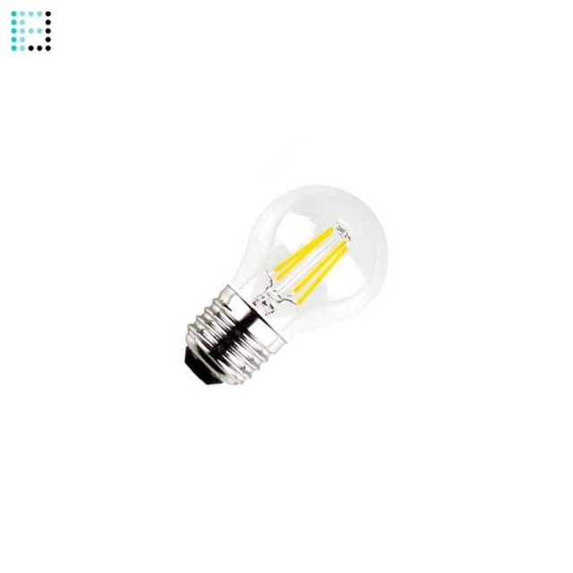 Bombilla LED E27 Regulable Filamento Reflect G45 3.5W