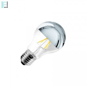 Bombilla LED E27 Regulable Filamento Reflect A60 6W