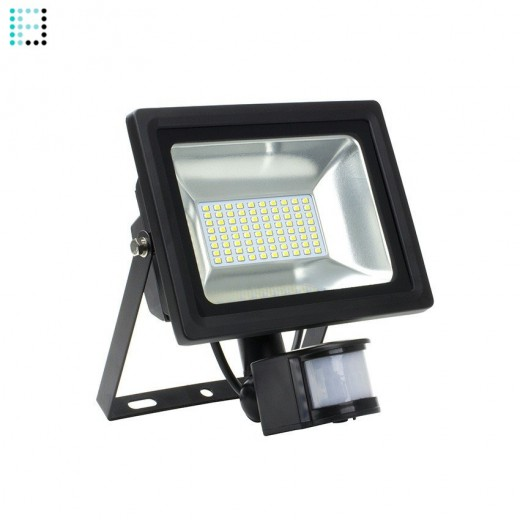 Foco Proyector LED SMD con Detector 30W 120lm/W