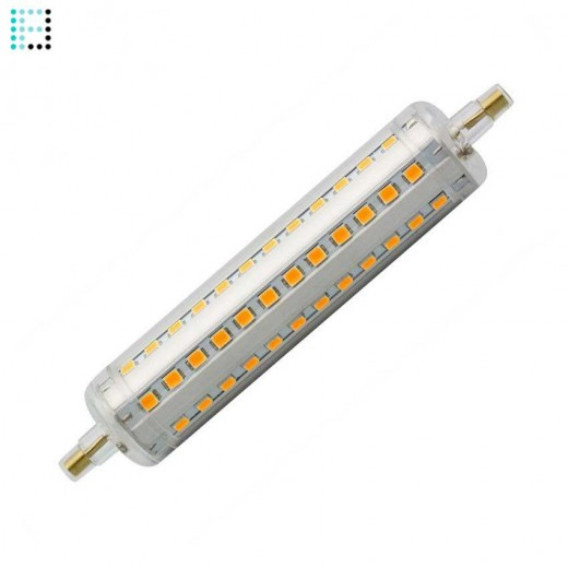 Bombilla LED R7S Slim Regulable 118mm 10W
