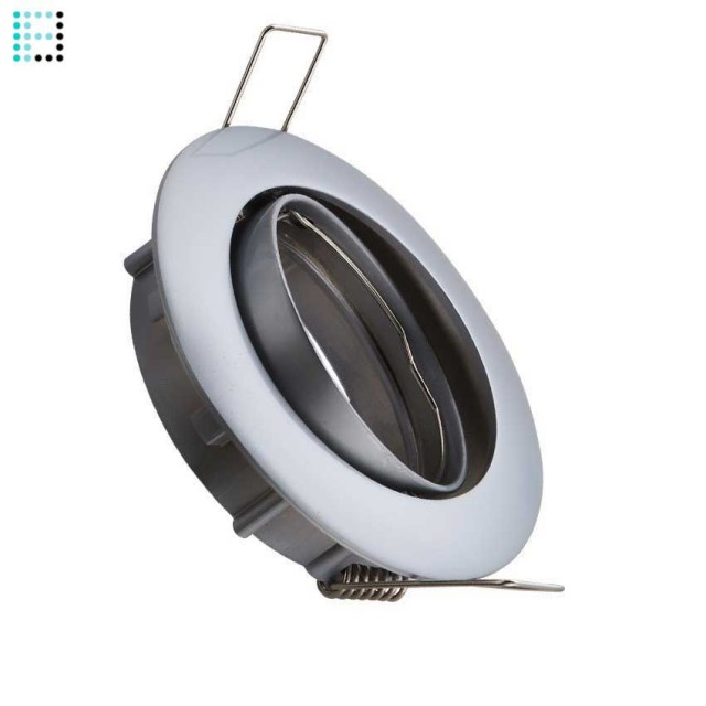 Aro Downlight Circular Basculante 84mm